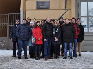 Комсомольцы посетили музей обороны и блокады Ленинграда