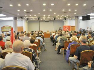 Ю.В. Афонин, Н.В. Арефьев, В.В. Бортко и А.А. Ющенко встретились с партийным активом и жителями Пете