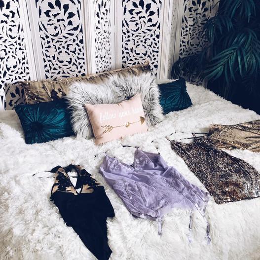 St louis boudoir photography wardobe