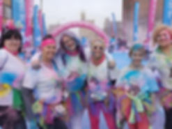 Glammarr at st louis color run