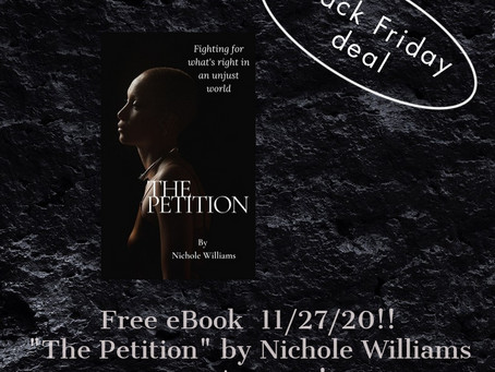 Black Friday FREE eBook!! The Petition on Amazon!