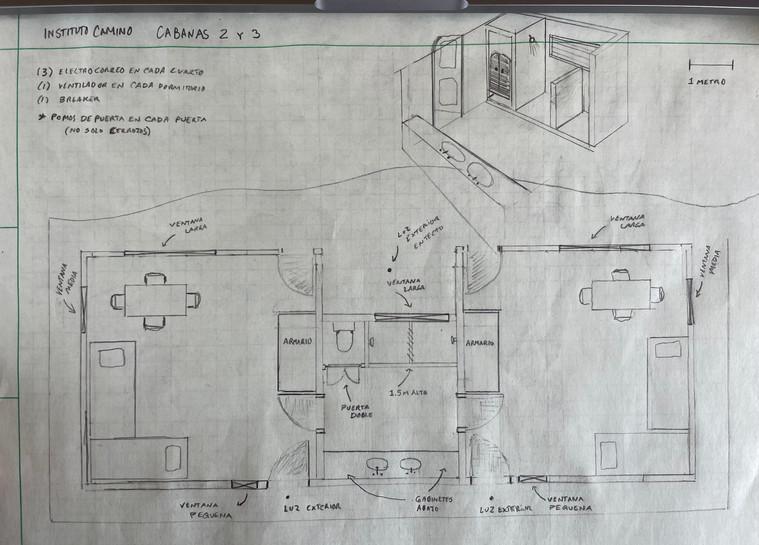 Double Cabin plan