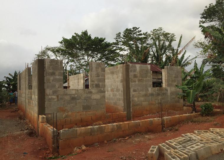 House project in progress
