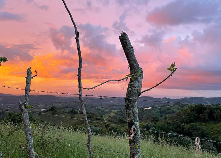 El Faro sunset - no filter.