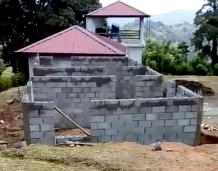 Cabaña Doble under construction!