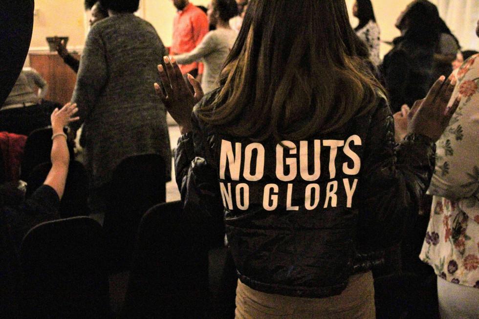 No Guts, No Glory!