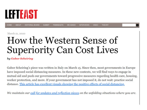How the Western Sense of Superiority Can Cost Lives