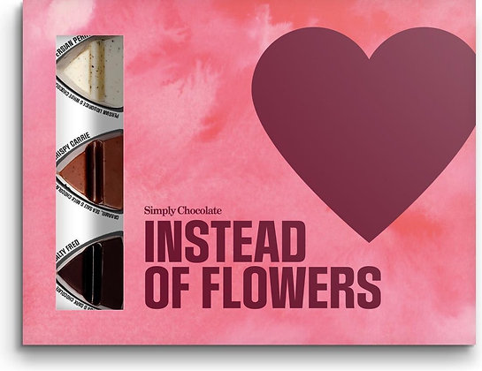 Instead of flowers - Simply chocolate