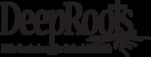 Logo DeepRoots_w_tagline_R_BLK_transpare