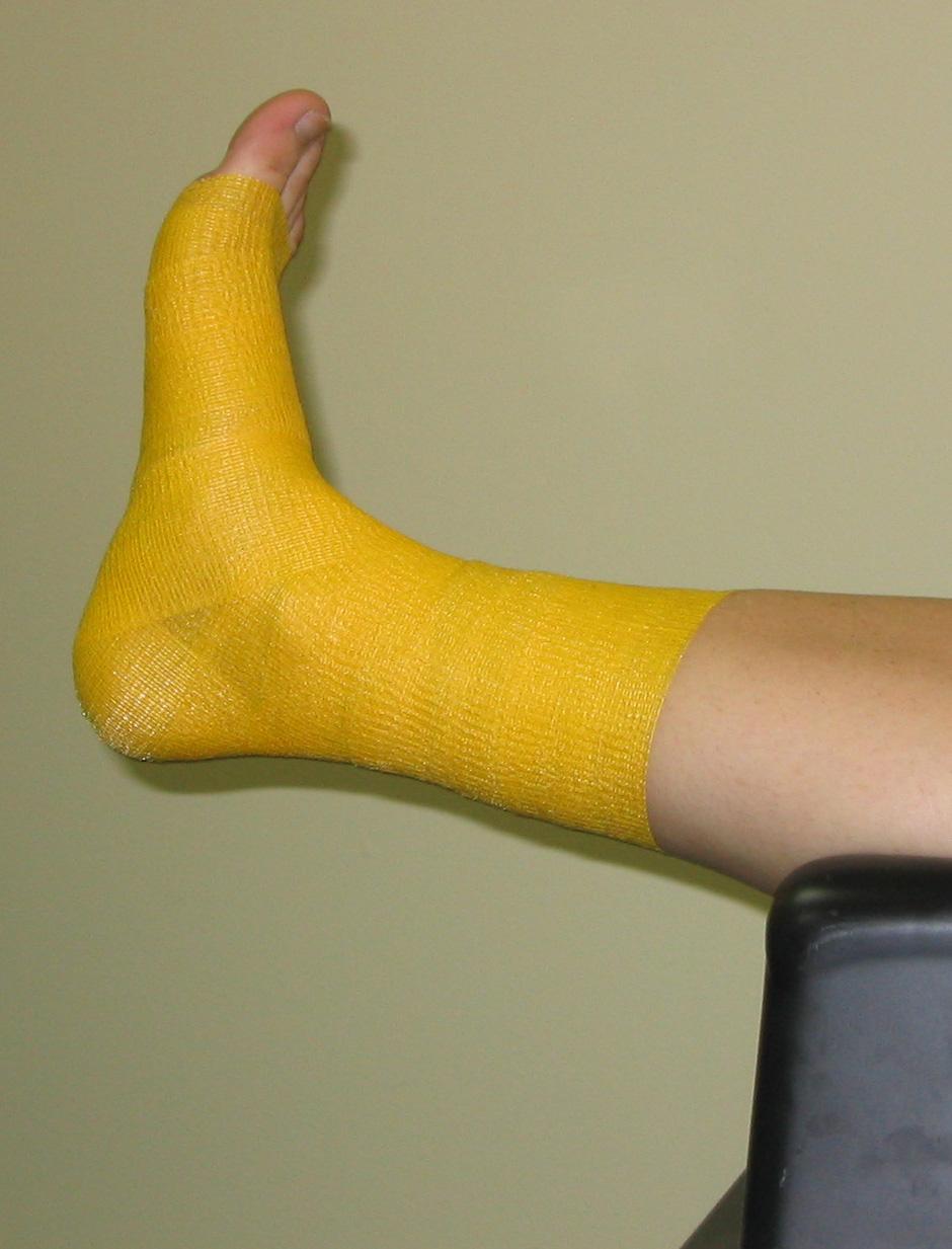 Ankle wrapped PowerFlex