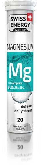 Effervescent Tablets, MG + B kompleks, 1