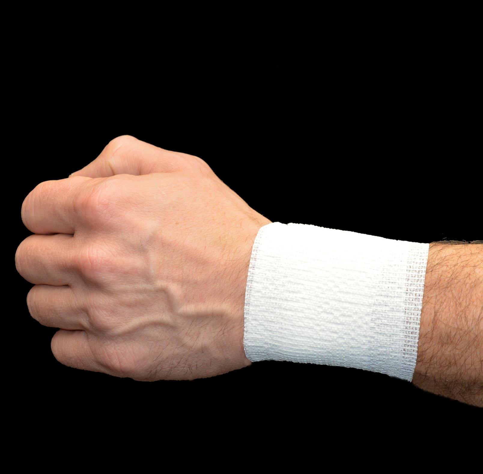 Wrist Photo, White PowerFlex
