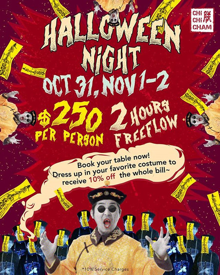 Halloween is coming up soon!! We got you