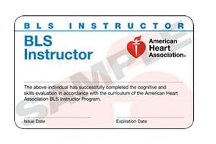 BLS Instructor Card