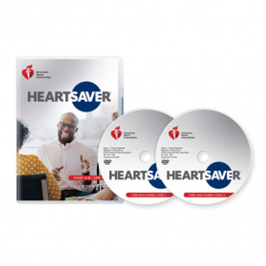 Rental - AHA HeartSaver CPR & First Aid Course DVD's