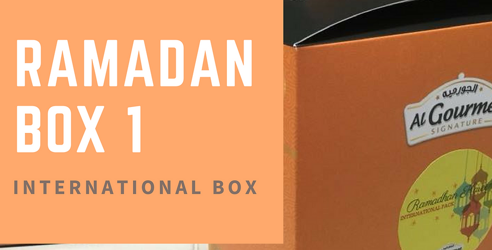 Gift Box - International Menu