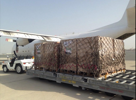 International Humanitarian City ships 40,000 Tayyib Ready-To-Eat meal pouches to Gaza