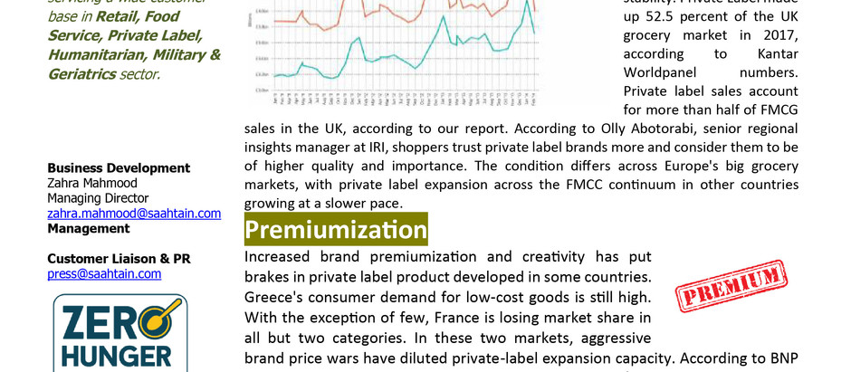 Europe's own-label market growing pains.
