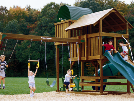 Take your playscape to a whole new level