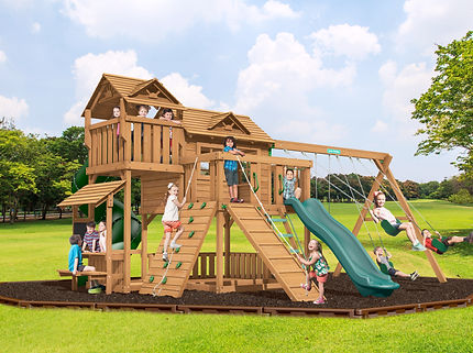 Playsets By Creative Playthings Timbergyms Ct