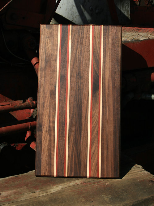 Jade Butcher Block - Candary, Black Walnut & Maple