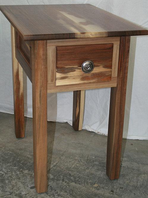 Walnut Appaloosa End Table
