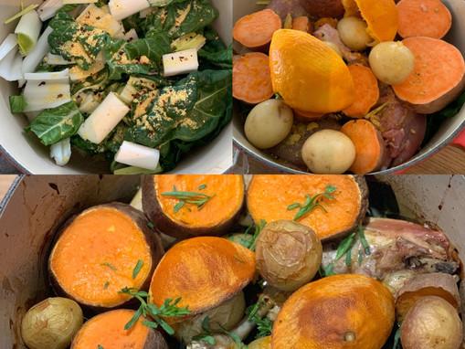 New Zealand One-Pot Chicken and Sweet Potato Wonder