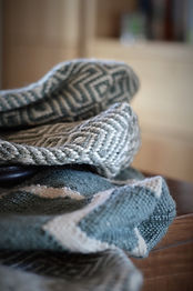 Tallis soft weaver blankets made from recycled plastic bottles