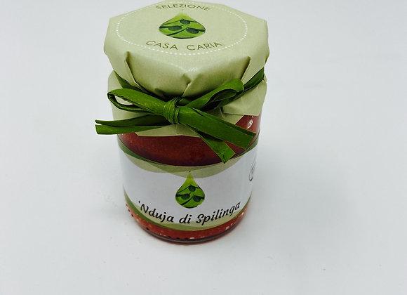 Nduja di Spilinga (scharfe Streichwurst aus Kalabrien) 90g
