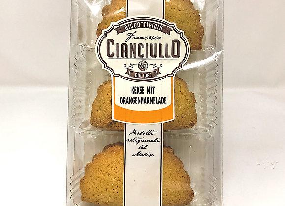 Kekse Cianciullo mit Orangenmarmelade 7.