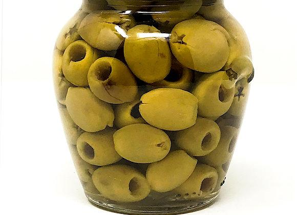 Oliven, grün, kernlos 280g