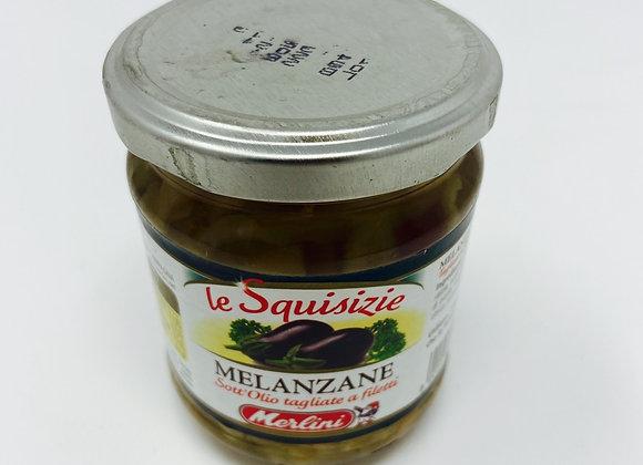 Melanzane Sott'olio - Auberginen in oel 190g