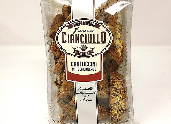 Cantuccini Cianciullo mit Schokolade