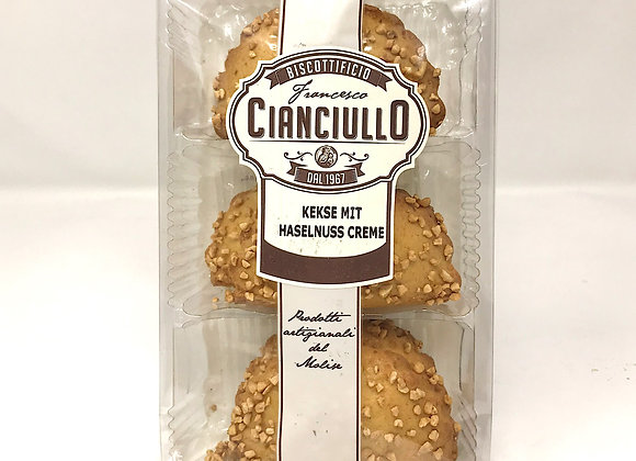 Kekse Cianciullo mit Haselnusscreme
