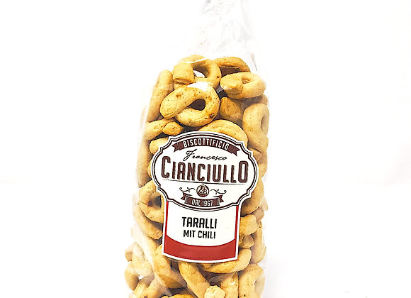 Taralli mit Chili