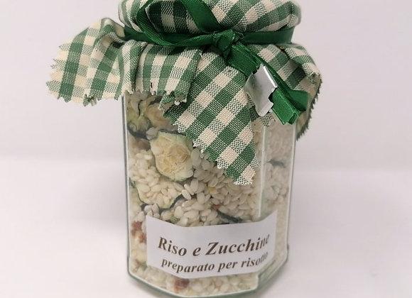 Riso e zucchine im Glas 320g