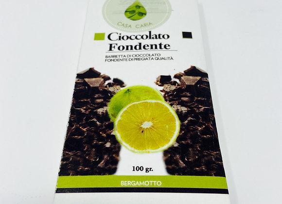 Dunkle Schokolade Bergamotte Caria 100g