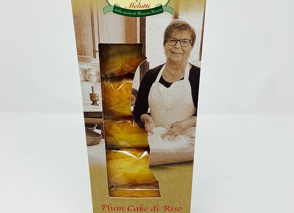 Plumcake aus Reismehl 216g