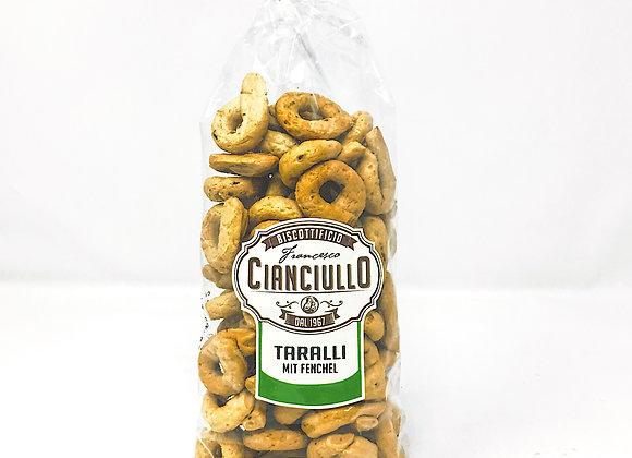 Taralli mit Fenchel