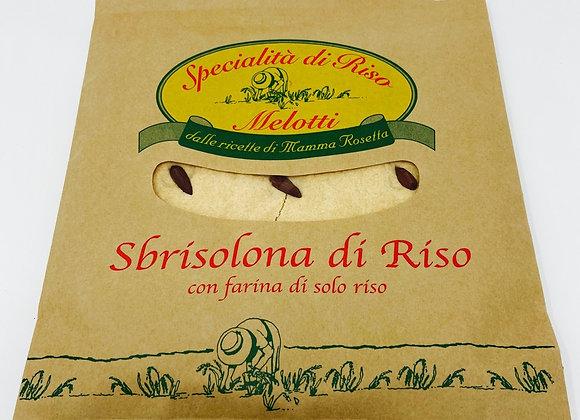 Sbrisolona aus Reis mit Mandeln 230g