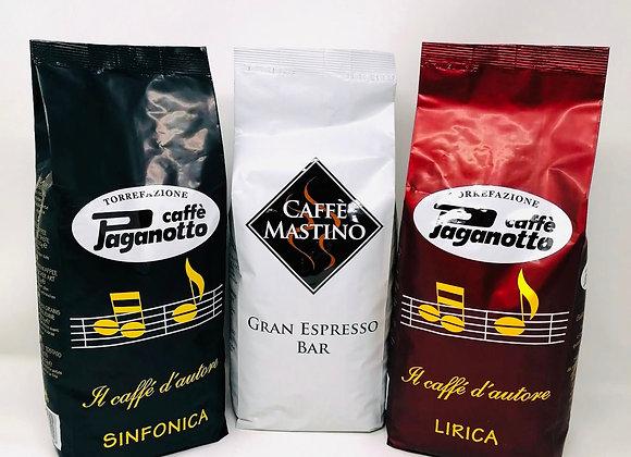 3Kg Kaffee Degustations-Set