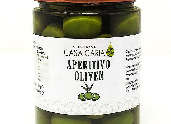 Aperitivo Oliven von Casa Caria, 320g