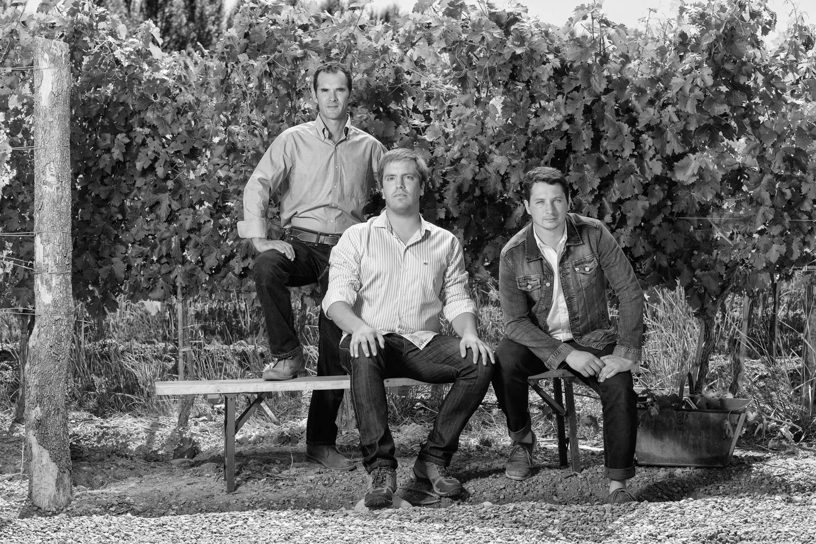 Team agrónomos Bodega Viña Cobos.