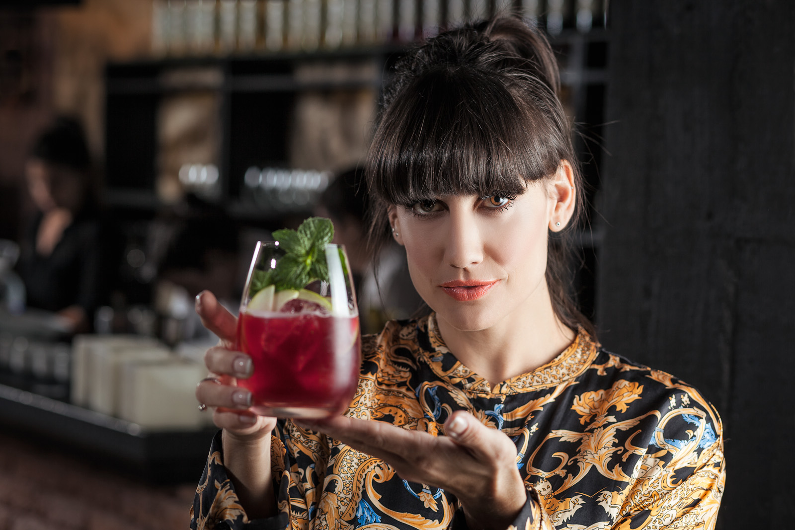 Mona Gallosi - Bartender