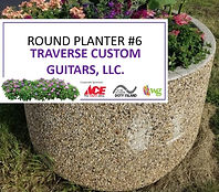 Round Planter #6 - Traverse Custom Guita