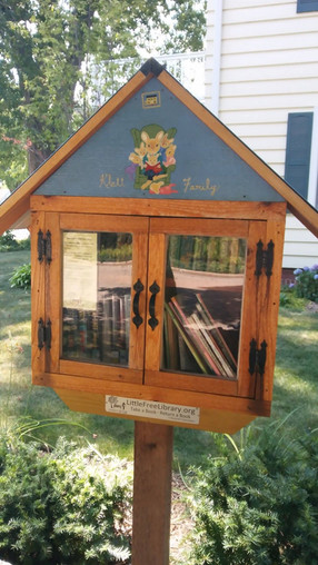 Exercise with a Purpose: Help Us Inventory Doty's Little Libraries