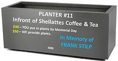 Planter #11 - In Memory of Frank Stilp.j