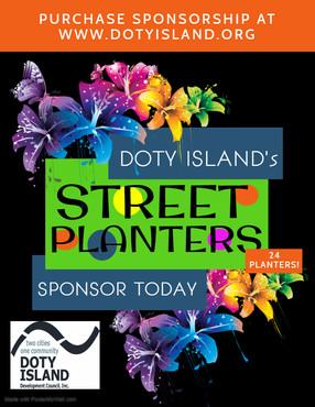 Sponsoring a Planter!