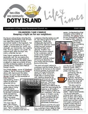 Doty Island Newletter!