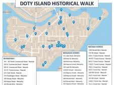 Starts Monday! Doty's History Walk
